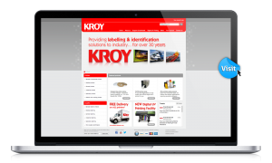 Kroy website design