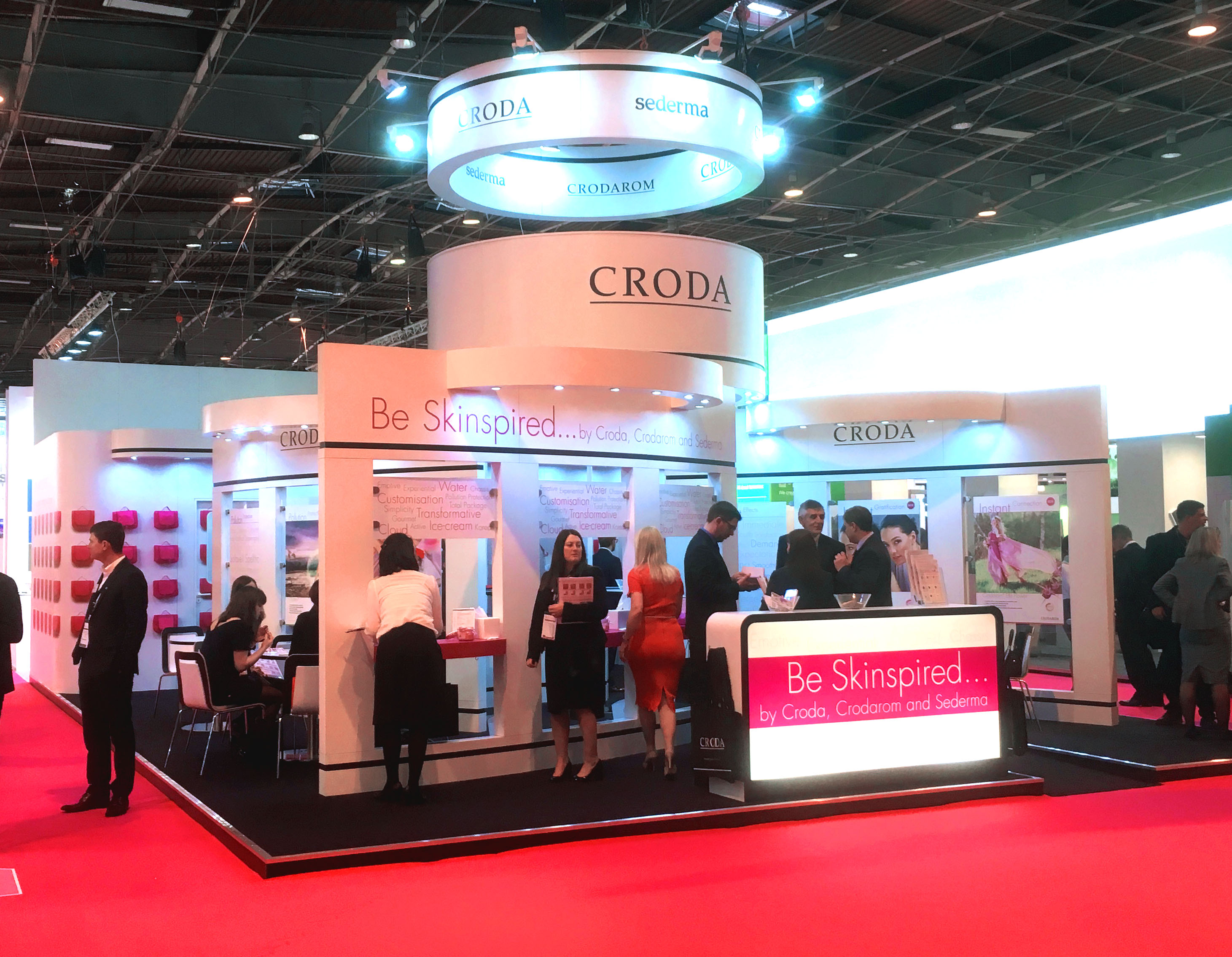 Exhibition Stand Design Site : Croda europe exhibition stand dawson design