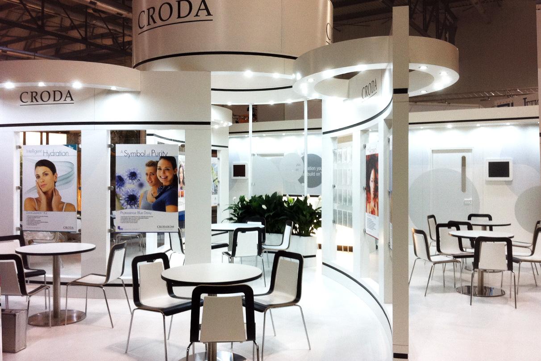 European Exhibition Stand Builders : Croda europe exhibition stand dawson design