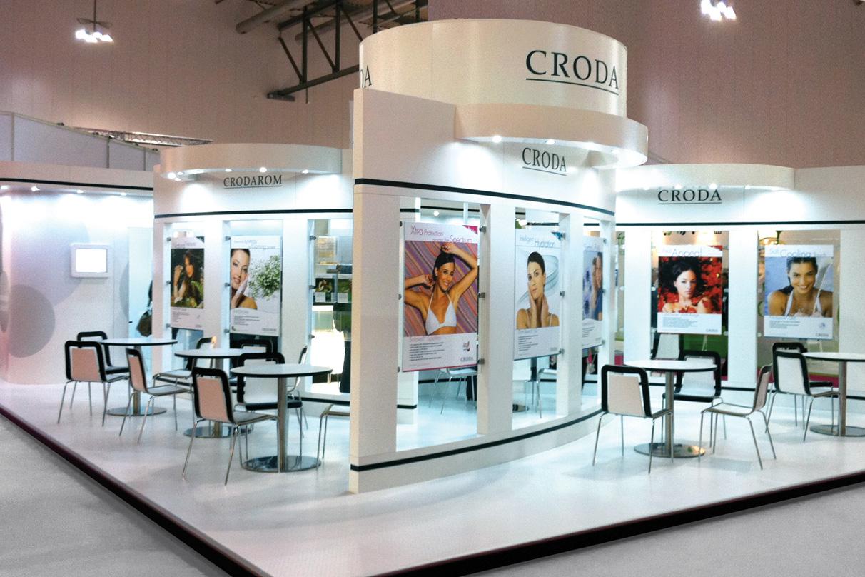 Exhibition Stand Europe : Croda europe exhibition stand dawson design