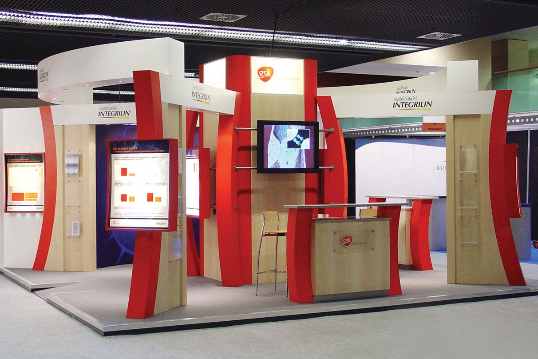 Portable Exhibition Game : Glaxo smith kline exhibition stand dawson design