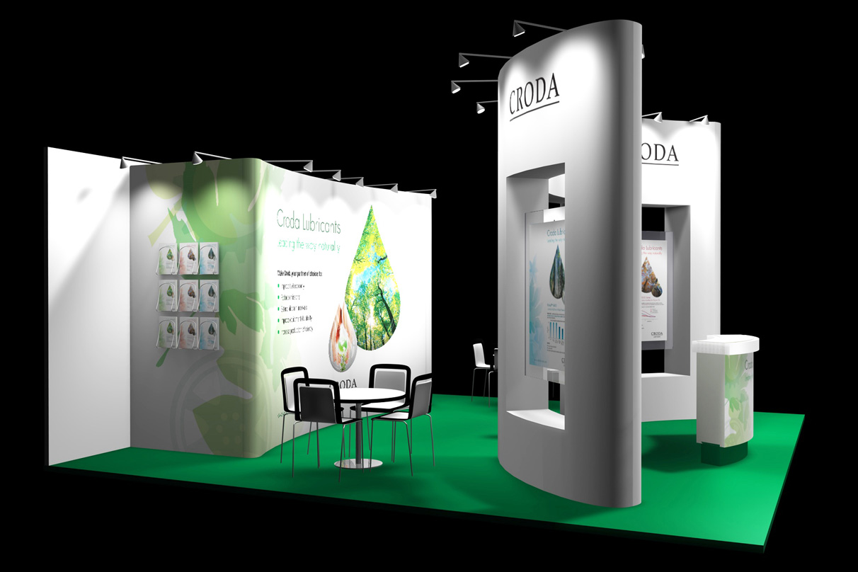 Portable Art Exhibition Stands : Portable stand graphics dawson design