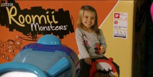 Roomii Monster on Dragons Den 5