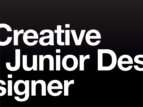 Junior Designer wanted