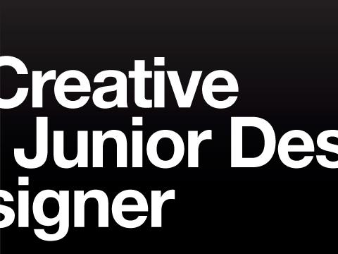 Junior Designer wanted